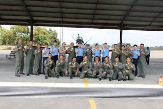 Kunjungan Delegasi TNI AU- ROKAF