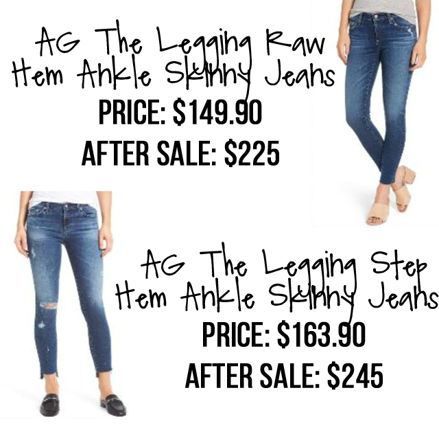AG Jeans Nordstrom Anniversary Sale