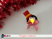 Come fare un pinguino luminoso