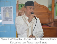 Wakil Walikota Bima Serahkan Bantuan Rp150 juta untuk Masjid Al-Ikhlas Ni'u