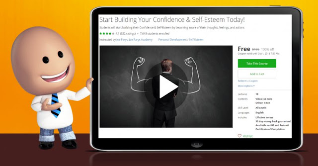 [100% Off] Start Building Your Confidence & Self-Esteem Today!| Worth 195$