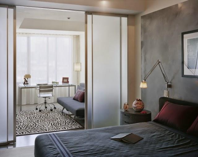 bedroom partitions. Black Bedroom Furniture Sets. Home Design Ideas