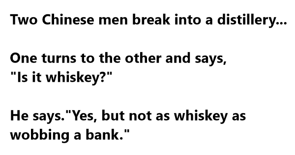 robbery jokes