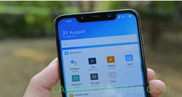 Cara Screenshot Xiaomi Pocophone F1