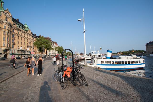 Zona del porto-Nybrokajen-Stoccolma