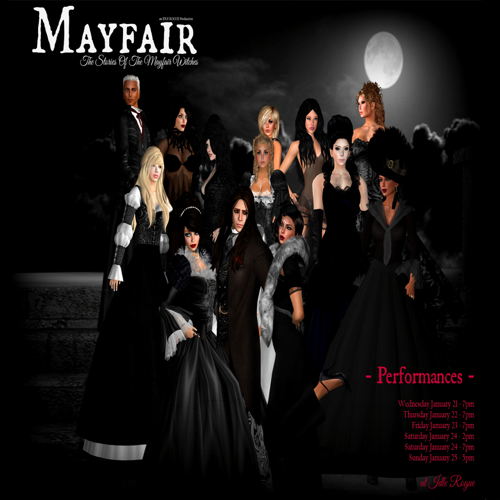 Myfair Com: Dance Queens : IDLE ROGUE PRODUCTIONS Presents MAYFAIR