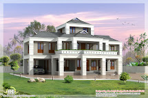 Villas Kerala Home Designs