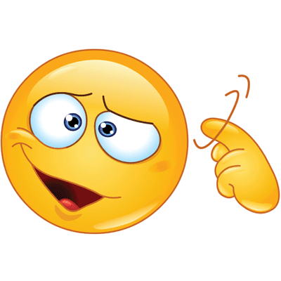 Gesturing crazy emoji