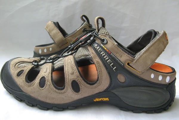 Mens Merrell Vibram Continuum Sport H2 Sandals
