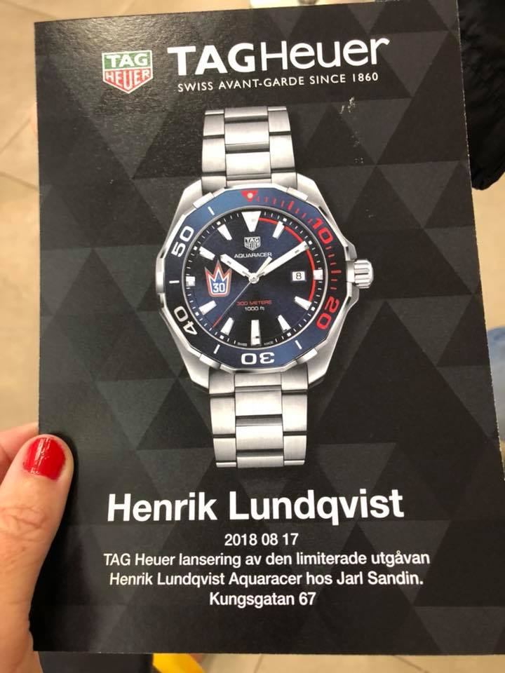 The Henrik Lundqvist Blog Watch Henrik Lundqvist Reveal His Tag