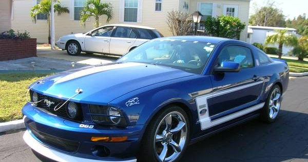 2008 Ford Mustang Saleen Dan Gurney Edition For Sale