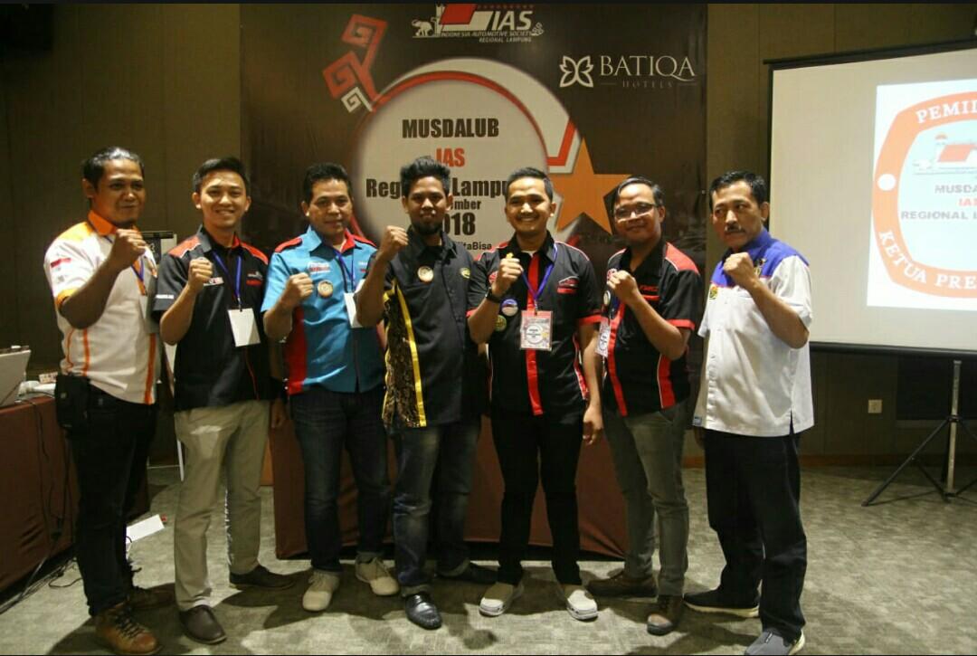 IAS Lampung Punya Ketua Baru