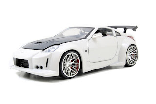 2003 Nissan 350Z BIGTIME MUSCLE Diecast 1:24 Scale White