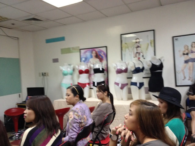 572ad57260 Product Briefing at the Wacoal Makati Office. Do you recognize the bloggers  in attendance   -D