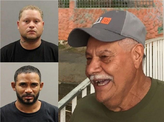 Dos dominicanos con docenas de fichas acusados de asesinar activista y padre de policía