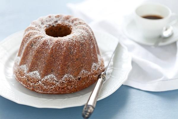 Torta Al Caffè E Gocce Di Cioccolato