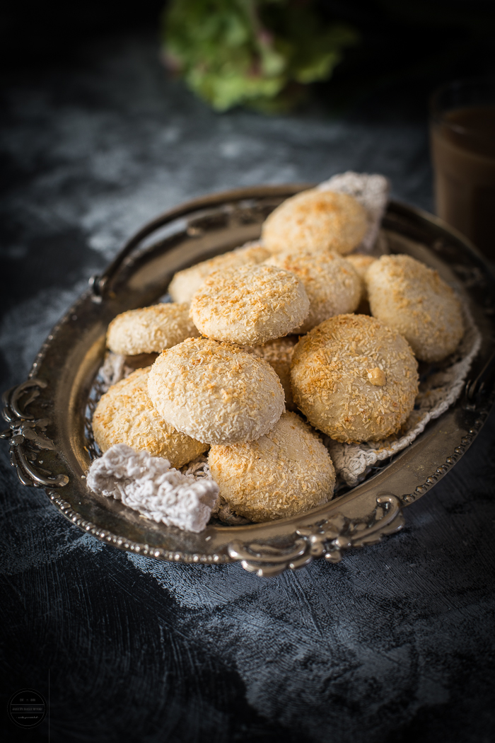 Coconut and Cardamom Wholewheat Cookies are eggless and so delicious. These are prepared with basic ingredients and easy to prepare.