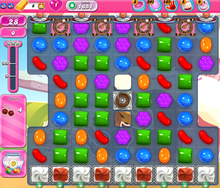 Candy Crush Saga 1651
