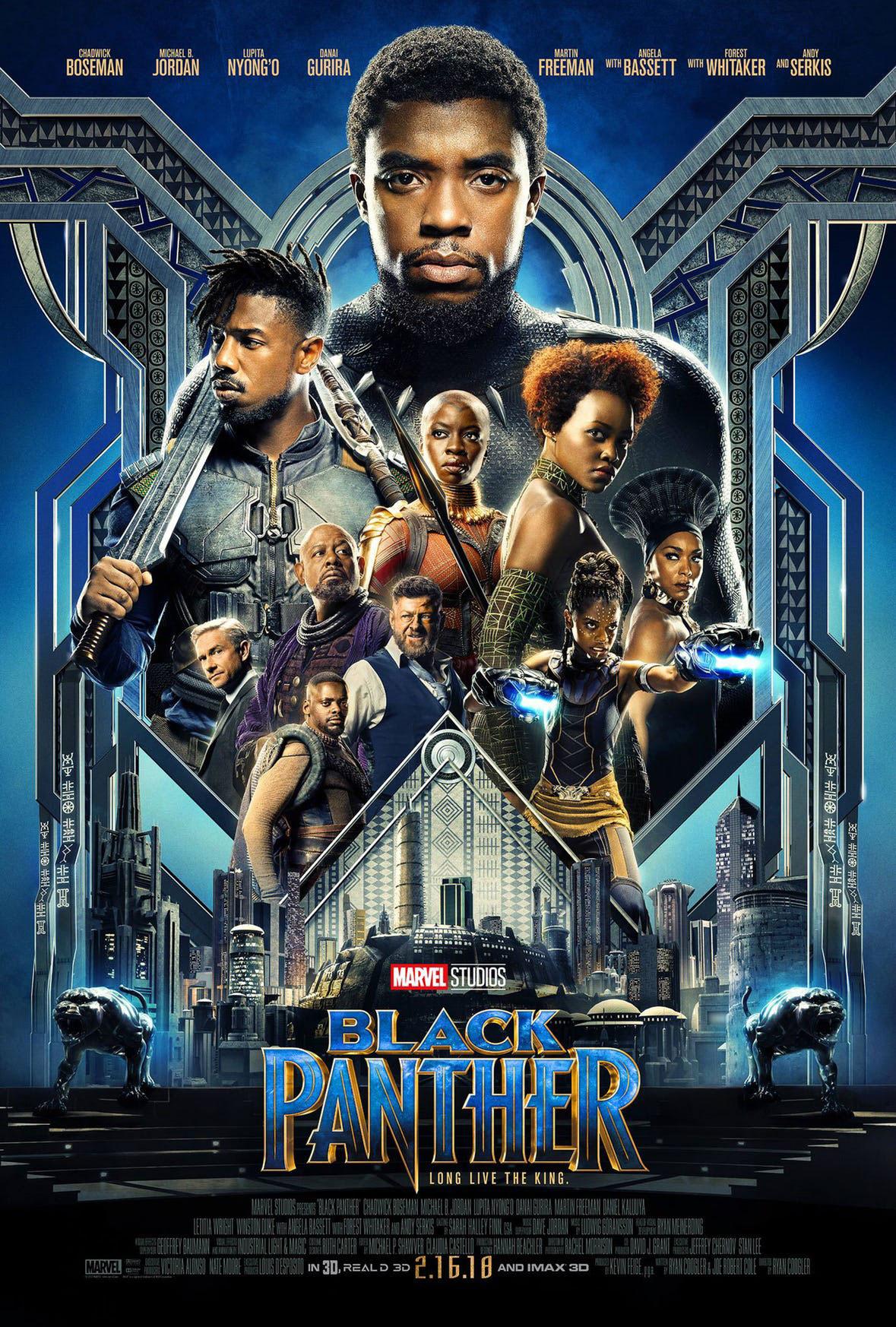 czarna pantera recenzja filmu plakat