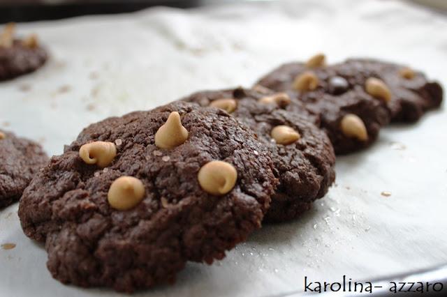 Peanut butter čoko cookies