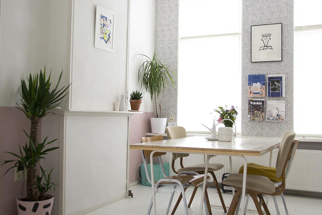 leggerezza e grafismi a casa di emma | la tazzina blu | bloglovin' - Carta Da Parati Design Sala Da Pranzo Ispirazione Vetro Freddo