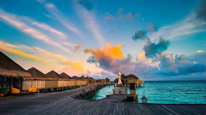Wallpaper: Constance Halaveli Maldives