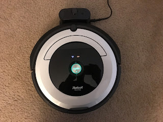 iRobot Roomba 690 on charging base