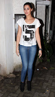 Abhishek, John & Nargis at Madras Cafe special screening
