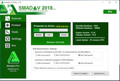 Smadav Pro 2018 Versi Terbaru Rev 11.8 Full Keygen Update Free Gratis
