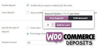 WooCommerce Deposits v2.2.5