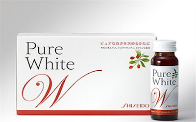 Nước uống collagen shiseido pure white