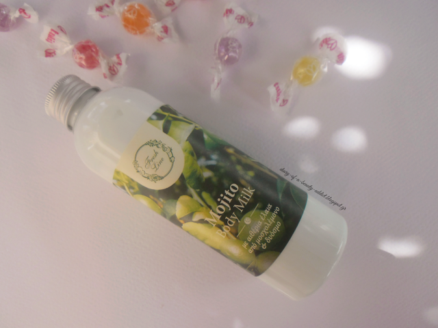 Fresh Line Mojito Body Milk