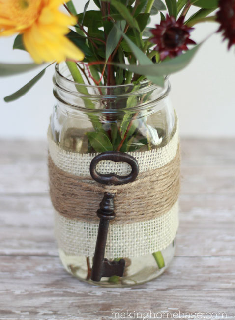 Home Made Modern: Craft of the Week: Jute-Wrapped Mason ...