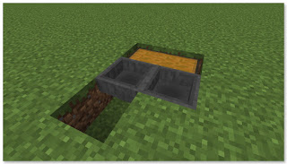 Minecraft トロッコアイテム輸送 簡単な荷降ろし駅 作り方②