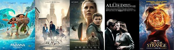 Box office: 2016.12.05 Moana