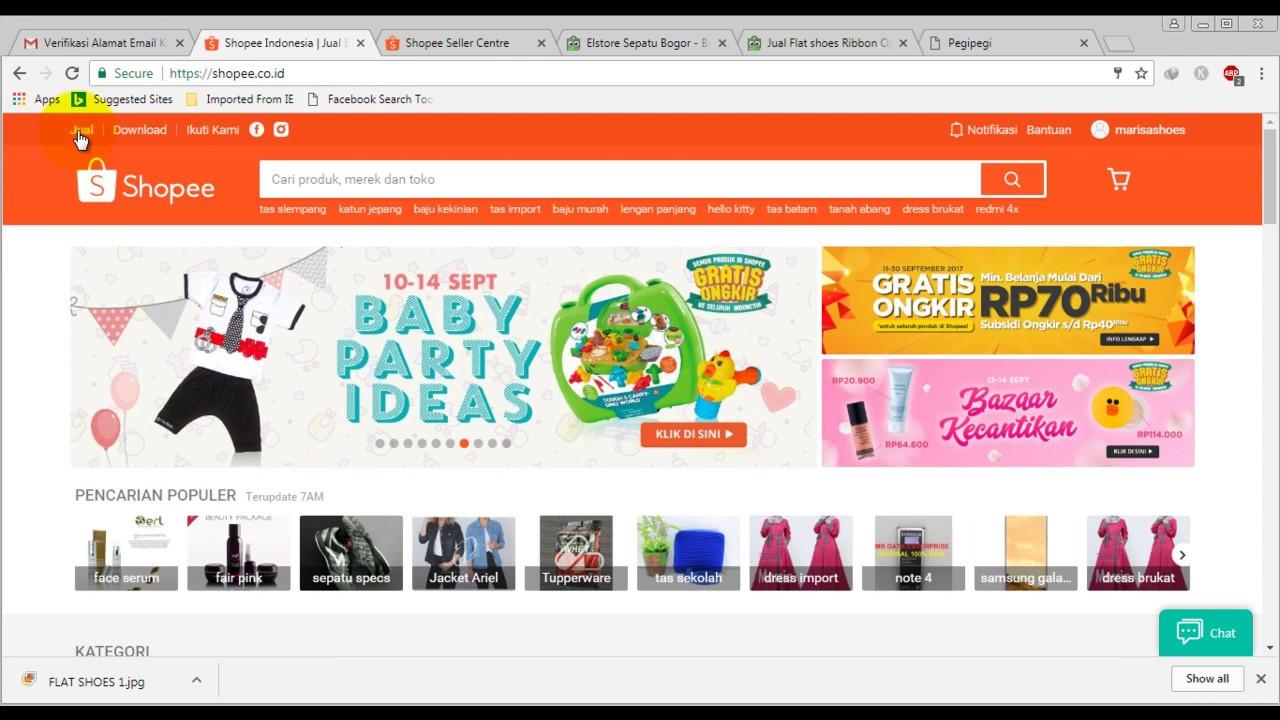Cara Daftar dan Membuat Toko Online di Shopee Indonesia ...