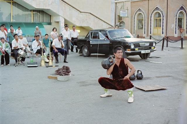 Ouzbékistan, Tachkent, Bazar Alaïsky, © Louis Gigout, 1999