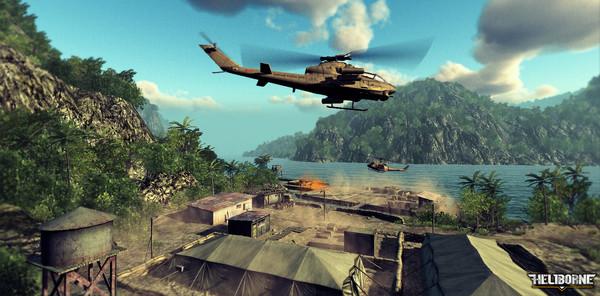 تحميل لعبة الطائرات الحربية للكمبيوتر Heliborne Dragons Awakening برابط مباشر مضغوطة ميديا فاير