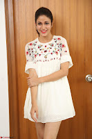 Lavanya Tripathi in Summer Style Spicy Short White Dress at her Interview  Exclusive 285.JPG