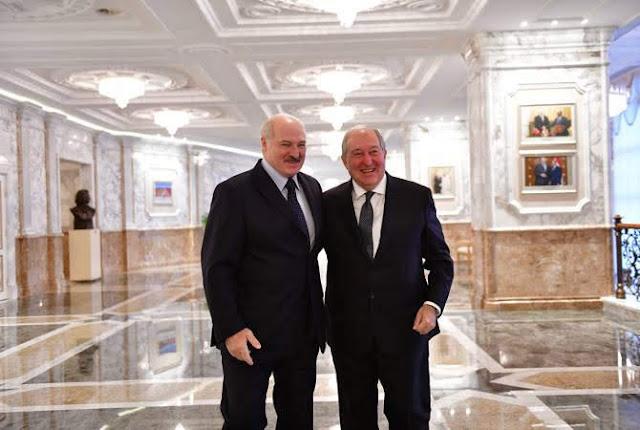 Impulsarán comercio entre Armenia y Bielorrusia