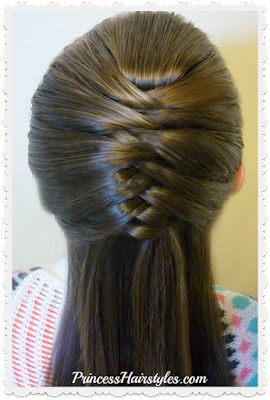 How to french fishtail braid cheat!  Snap braid tool.