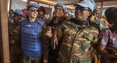 Marcia Andrade: la militar que da voz a las mujeres de la República Centroafricana