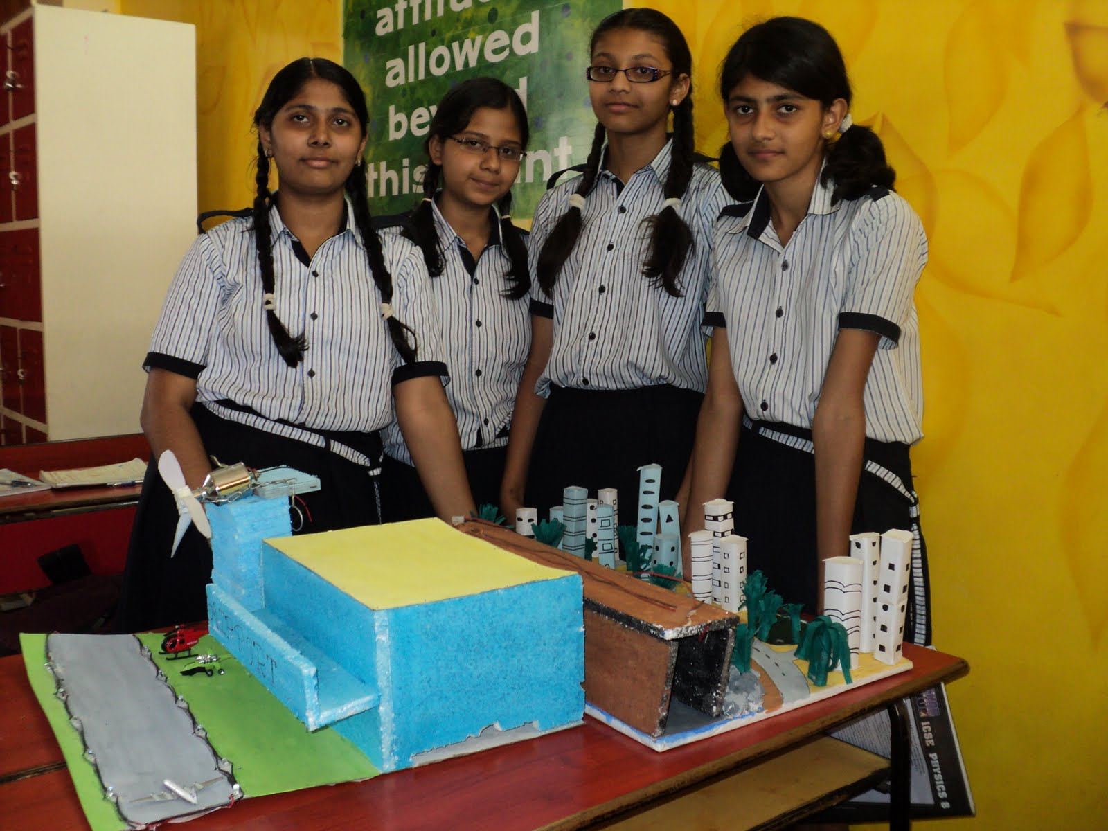 The Rustomjee Cambridge Diaries: Grade 8 - Science Project