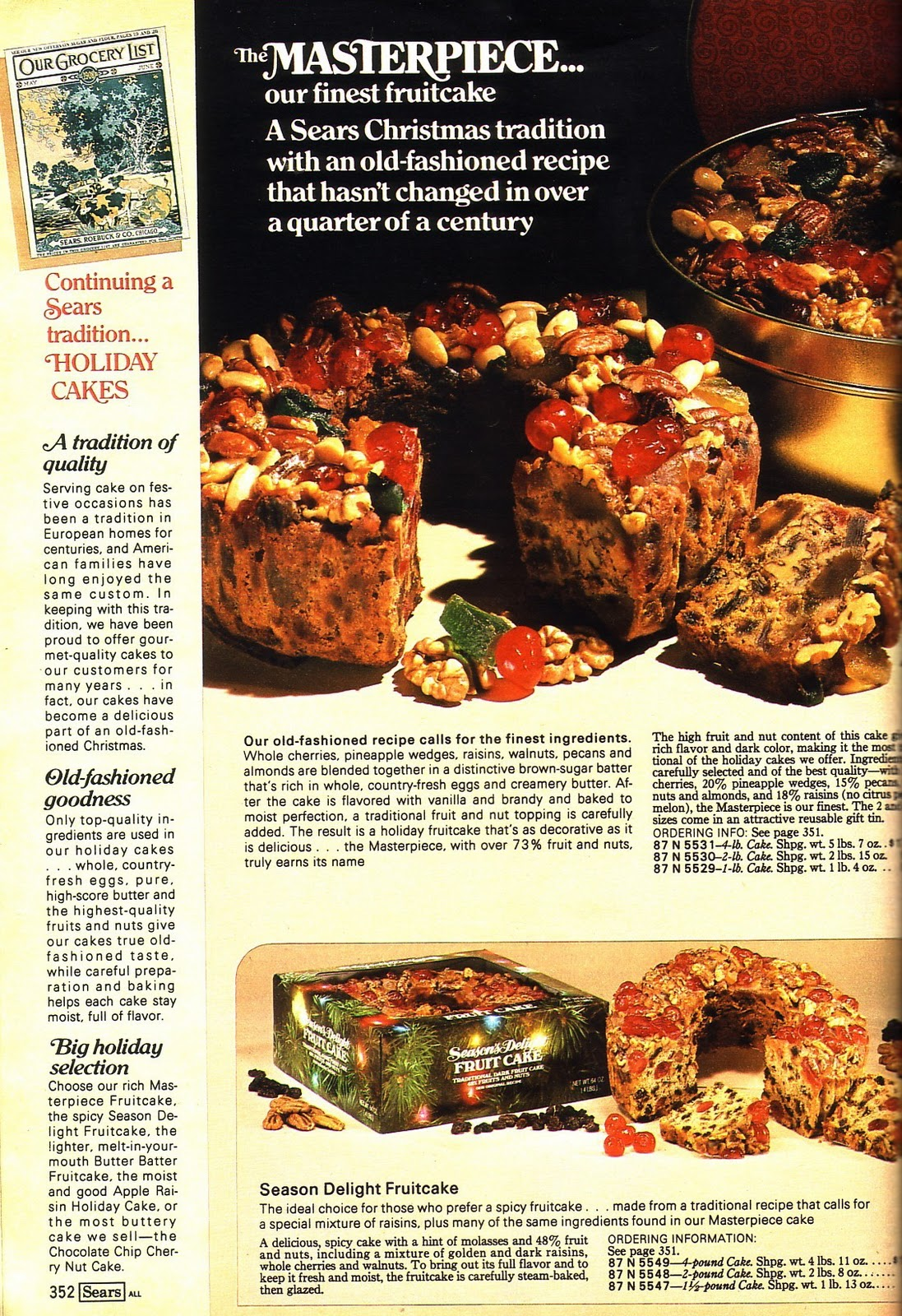 Taste Book Remember Monster Dad: Resurrecting The Past: 1980 Sears Holiday