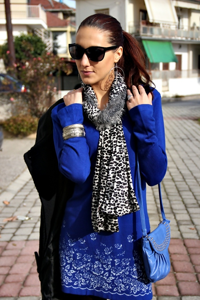 black H&M sunglasses