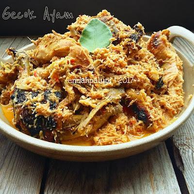 Resep Gecok Ayam Sederhana Enak By @endahpalupid