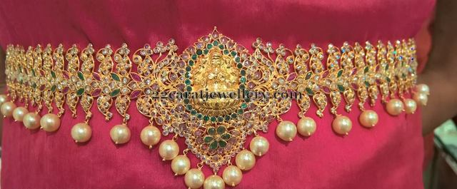 Uncut Diamond Chain Vaddanam