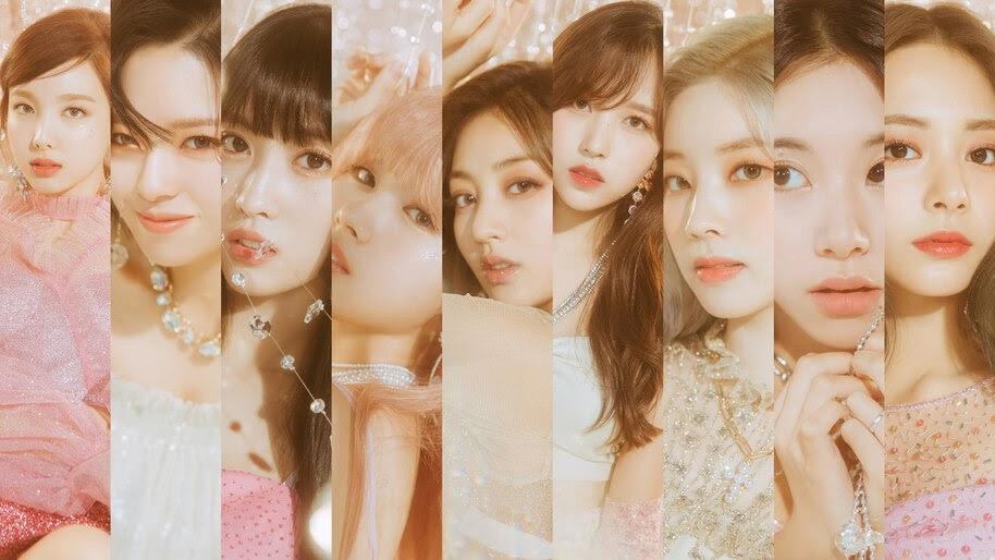 Twice Feel Special Group Members 8k Wallpaper 5680