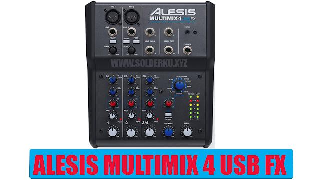 Alesis MultiMix 4 USB FX