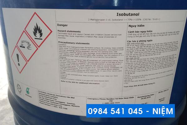 Dung môi công nghiệp Isobutanol